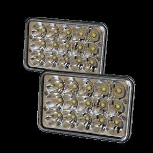 "Pair of Vortex Series Led Headlight 5"" x 7"""