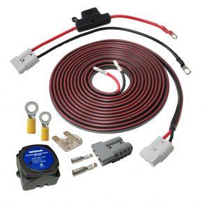 Plug & Play Dual Battery Wiring Kit + VSR