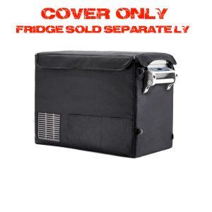 Portable camping fridge cover