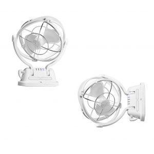 12/24V Sirocco Series II Cabin Fan (White)