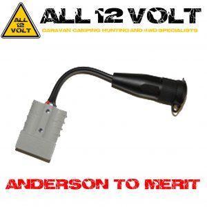 Anderson To Merit Socket