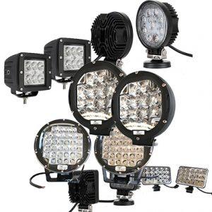 LED DRIVING LIGHTS & LED WORK LIGHT