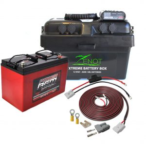 Redarc dual battery set up